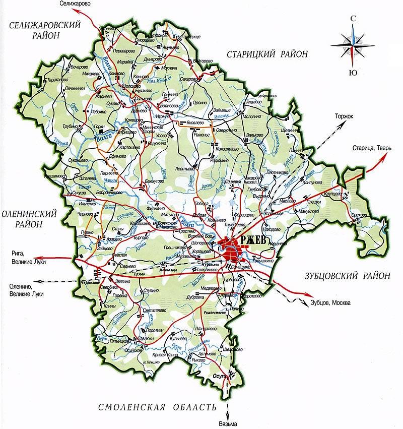 бойково тверская область калининский район рыбалка на карте